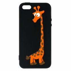 Чохол для iphone 5/5S/SE Жираф