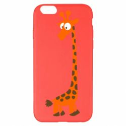 Чехол для iPhone 6 Plus/6S Plus Жираф