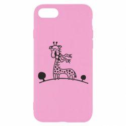 Чехол для iPhone 7 жираф