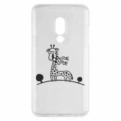 Чехол для Meizu 15 жираф