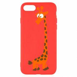 Чехол для iPhone 8 Жираф