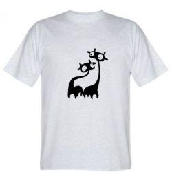 Мужская футболка Жирафи - FatLine