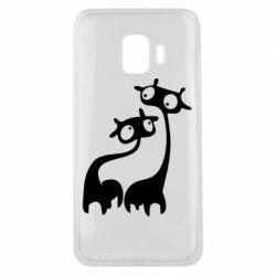 Чехол для Samsung J2 Core Жирафы