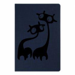 Блокнот А5 Жирафы