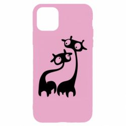 Чехол для iPhone 11 Жирафы