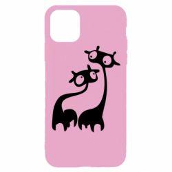 Чехол для iPhone 11 Pro Жирафы