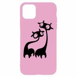 Чехол для iPhone 11 Pro Max Жирафы