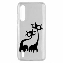 Чехол для Xiaomi Mi9 Lite Жирафы