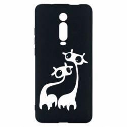 Чехол для Xiaomi Mi9T Жирафы