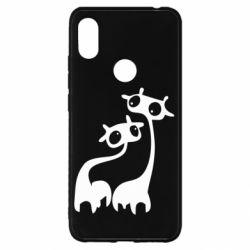 Чехол для Xiaomi Redmi S2 Жирафы