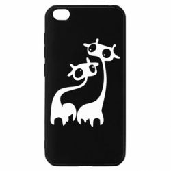 Чехол для Xiaomi Redmi Go Жирафы