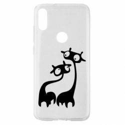 Чехол для Xiaomi Mi Play Жирафы