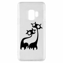 Чехол для Samsung S9 Жирафы
