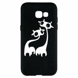 Чехол для Samsung A5 2017 Жирафы