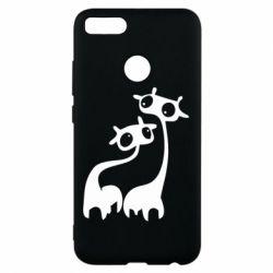 Чехол для Xiaomi Mi A1 Жирафы