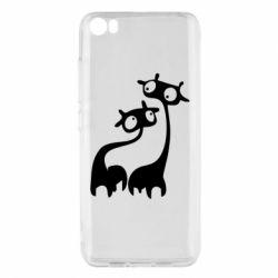 Чехол для Xiaomi Mi5/Mi5 Pro Жирафы