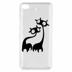 Чехол для Xiaomi Mi 5s Жирафы