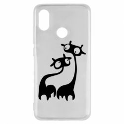Чехол для Xiaomi Mi8 Жирафы