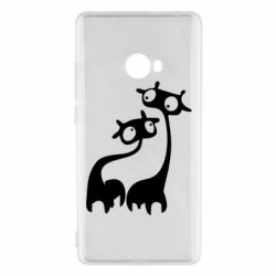 Чехол для Xiaomi Mi Note 2 Жирафы