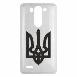 Чехол для LG G3 mini/G3s Жирный Герб Украины - FatLine