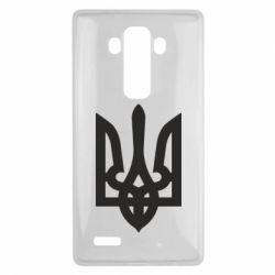 Чехол для LG G4 Жирный Герб Украины - FatLine