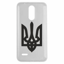 Чехол для LG K7 2017 Жирный Герб Украины - FatLine
