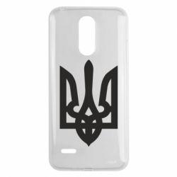Чехол для LG K8 2017 Жирный Герб Украины - FatLine