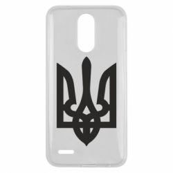 Чехол для LG K10 2017 Жирный Герб Украины - FatLine