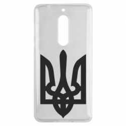 Чехол для Nokia 5 Жирный Герб Украины - FatLine