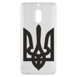 Чехол для Nokia 6 Жирный Герб Украины - FatLine