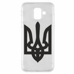 Чехол для Samsung A6 2018 Жирный Герб Украины - FatLine