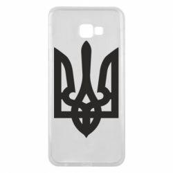 Чехол для Samsung J4 Plus 2018 Жирный Герб Украины - FatLine
