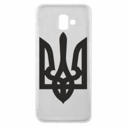 Чехол для Samsung J6 Plus 2018 Жирный Герб Украины - FatLine