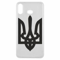 Чехол для Samsung A6s Жирный Герб Украины - FatLine