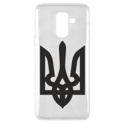 Чехол для Samsung A6+ 2018 Жирный Герб Украины - FatLine
