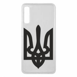Чехол для Samsung A7 2018 Жирный Герб Украины - FatLine