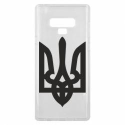 Чехол для Samsung Note 9 Жирный Герб Украины - FatLine