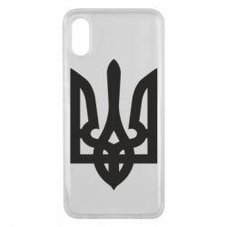 Чехол для Xiaomi Mi8 Pro Жирный Герб Украины - FatLine