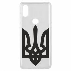 Чехол для Xiaomi Mi Mix 3 Жирный Герб Украины - FatLine