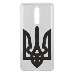 Чехол для Nokia 8 Жирный Герб Украины - FatLine