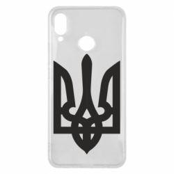 Чехол для Huawei P Smart Plus Жирный Герб Украины - FatLine