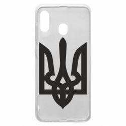 Чехол для Samsung A20 Жирный Герб Украины