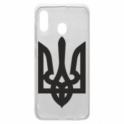 Чехол для Samsung A30 Жирный Герб Украины