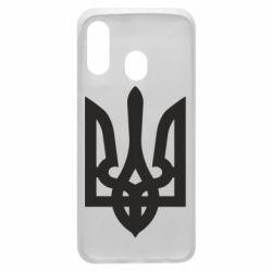 Чехол для Samsung A40 Жирный Герб Украины