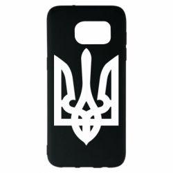 Чехол для Samsung S7 EDGE Жирный Герб Украины - FatLine