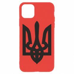 Чехол для iPhone 11 Жирный Герб Украины