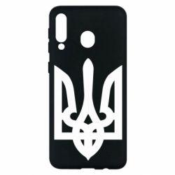 Чехол для Samsung M30 Жирный Герб Украины