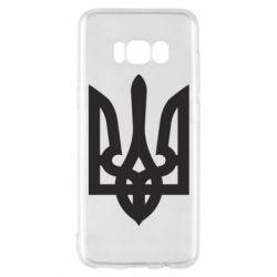 Чехол для Samsung S8 Жирный Герб Украины - FatLine