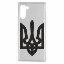 Чехол для Samsung Note 10 Жирный Герб Украины
