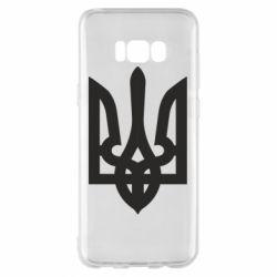 Чехол для Samsung S8+ Жирный Герб Украины - FatLine